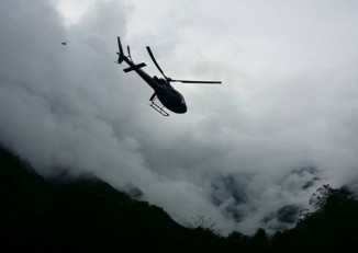 File photo of BUrmese military helicopter (Photo: Htoo Foundation)