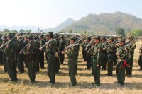 File photo of Shan State Army-North soldiers from 2014. (PHOTO: DVB)