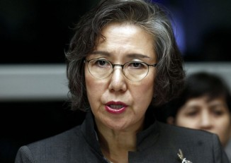 File photo of Yanghee Lee, the Special Rapporteur on the situation of human rights in Burma (PHOTO: Reuters)