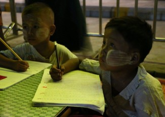 The education ministry has stated that the funds will be used to promote quality education in remote areas and schools in the border regions(PHOTO: DVB)