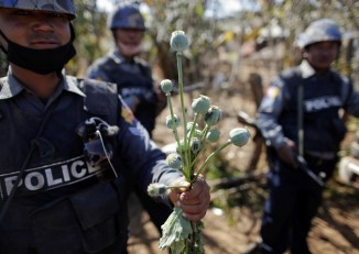 Opium production and consumption in Kachin State is fuelled by the ongoing conflict in the region (PHOTO: Reuters)