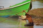 File photo of a Burmese fisherman (Photo: Wikicommons Media)