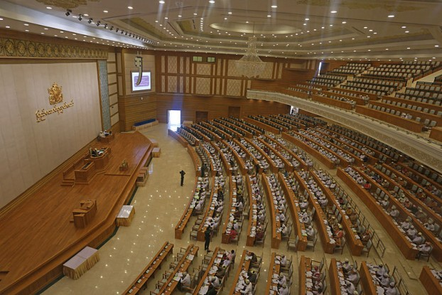 File photo of Burma's parliament (PHOTO: Wikimedia Commons)