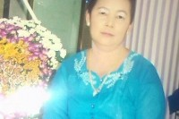 Ma Khin Win (1964- 2014), shot dead in protest at Latpadaung copper mine site on 22 December 2014.