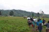 Villagers flee their homes in Kachin state after renewed violence in the region (Photo: KBC Kachin)