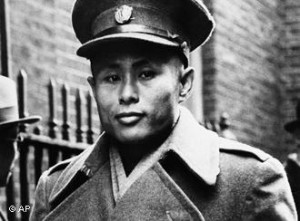 Gen. Aung San, who led Burma's struggle for independence and was assassinated in 1947.