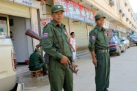 File photo of members of the Myanmar National Democratic Alliance Army (Photo: DVB)