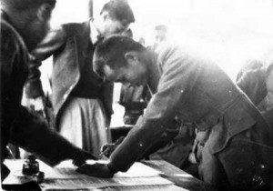12 February 1947 – Signed Panglong Agreement with leaders from national groups expressing solidarity and support for united Burma.