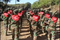 """The TNLA have been fighting against a """"full scale offensive,"""" from the Burmese army, according to local NGOs (Photo: DVB)"""