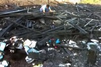 The damage from the fire at the Children's Development Centre in Mae Sot, Thailand (Photo: DVB)