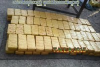 The drug haul seized by the Ta-ang National Liberation Army, according to the group (Photo: TNLA)