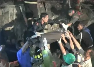 The fire, which killed four, reportedly spread from a kitchen stove (Photo: DVB)
