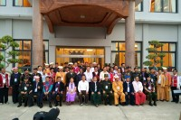 Leaders of ethnic armed groups at the Panghsang summit (Photo: Facebook/ Dr Nyo Twan Awng of the Arakan Army)