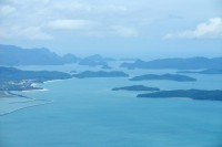 The Langkawi archipelago of Malaysia, near where the two migrant boats were sighted by Malaysian authorities early on Thursday morning (Photo: Wikicommons/ RoB)