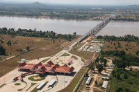 The first Myanmar-Laos Friendship Bridge opened last month across the Mekong River.  (PHOTO: Government of Laos)