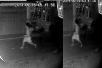 CCTV footage released by police appeared to show a person running away from the vicinity of the crime scene during the night in question.