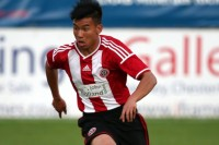 From Umpiem refugee camp to Sheffield United football team, Kler Heh is a rising star. (PHOTO: Sheffield United)