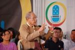 DPM Chairman Thu Wai, pictured recently at a DVB Debate programme in Rangoon. (PHOTO: DVB)