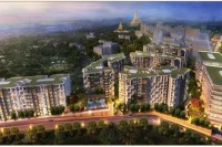 An artist's impression of Dagon City 2, as advertised by contractors Thukha Yadana Company.