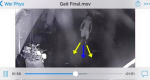 Acume Forensics examination of the 'running man' CCTV footage. (IMAGE: Acume Forensics)