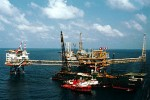 The Yadana gas field, in the Andaman Sea off the Burmese coast (Photo: OGJ.com)
