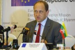 Alexander Graf Lambsdorff, EU's chief observer during the election. (PHOTO: DVB)