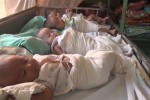 DVB file photo of infants in Naypyidaw.