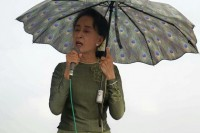Democracy icon Aung San Suu Kyi will cast her first ballot on 8 November. (PHOTO: DVB)