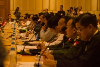 Representatives at the 19 November committee meeting in Naypyidaw. (PHOTO: DVB)