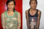 Kyaw Win Sein (l) and Naing Min Thu (r) were arrested on 24 January in Rangoon. (PHOTO: Rangoon Police)