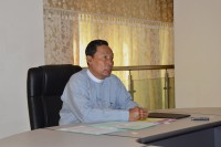 Shwe Mann, in a picture posted to his Facebook account shortly after his new role was confirmed. (PHOTO: Facebook/Shwe Mann)