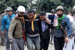 Pat Jason members were injured in a skirmish with local poppy farmers on 25 February. (PHOTO: LA N LUNG JUNG)