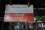 The Arakan National Party was the most successful ethnic political party at Burma's November elections, winning 23 seats in the Arakan State Parliament. (PHOTO: DVB)