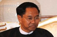 File photo of Myint Swe.