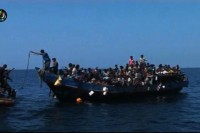 File photo of Rohingya boat people in the Andaman Sea. (Photo: Reuters)