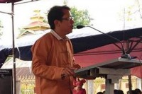 SNLD spokesperson Sai Lek