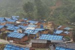 One of the Kachin IDP camps hit by heavy winds on 19 April 2016 (Photo: KRC)