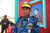 General Saw Moshe Myint, the new chief of staff of the DKBA-5 (Photo: Karen National Media)