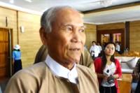Irrawaddy Division Chief Minister Mahn Johnny (Photo: DVB)