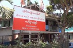File photo of the ANP's headquarters in the Arakan State capital Sittwe.