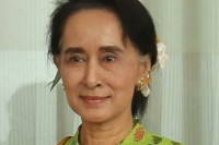 File photo of NLD leader and Burmese State Counsellor Aung San Suu Kyi (Photo: DVB)