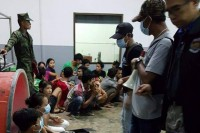 File photo of rescued Burmese workers in Thailand (Photo: DVB)