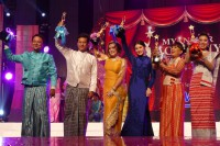 From left to right: Wine, Pyay Ti Oo, Phway Phway, Wutthmone Shweyi, Gwanpon, Khine Thin Kyi. (PHOTO: DVB)