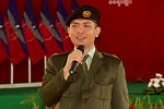 Arakan Army commander-in- chief Brigadier-General Tun Myat Naing (Photo: DVB)