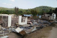 The village of Hopang after it was allegedly torched by the TNLA on 6 May 2016. (Photo: Zaai HomMain / Facebook)