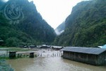 Flooding in Kachin State has destroyed houses and caused food shortages in 15 villages. (Photo: Zepha Da / DVB)