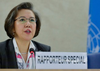 File photo of Yanghee Lee, the United Nations special rapporteur on the situation of human rights in Burma. (Photo: Jean-Marc Ferré / UN)