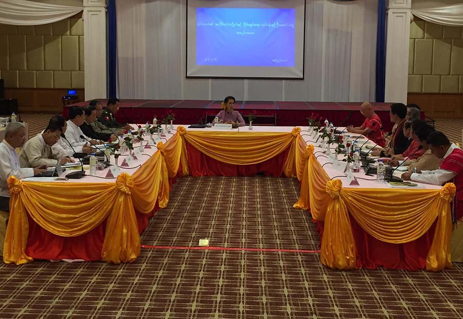 Suu Kyi, NCA groups agree to start 'Second Panglong' in August- DVB