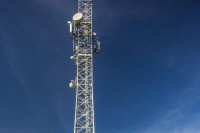File photo of a  telecommunications tower in Burma. (Photo: Apollo Towers Myanmar Ltd.)