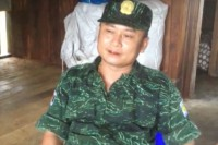 Gen Saw Kyaw Thet, chief-of-staff of the Democratic Karen Buddhist Army. (Photo: DVB)